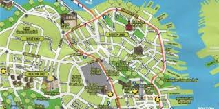 boston city map boston map maps boston united states of america