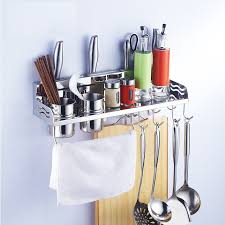 buy kawachi space aluminum kitchen rack cooking tools holder spice