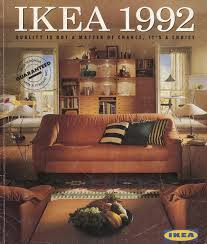ikea 2011 catalog the 1992 ikea catalogue cover ikea catalogue covers pinterest