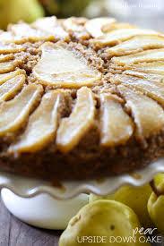 pear upside down cake recipe u2014 dishmaps