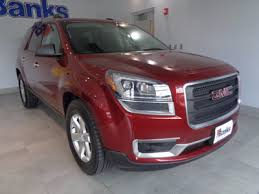 used gmc acadia at banks chevrolet buick gmc serving concord nh