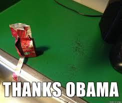 Thanks Obama Meme - president barack obama shuts down thanks obama meme on reddit