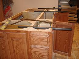 Kitchen Island With Corbels Overhang Without Corbels Or Legs
