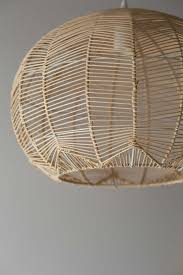Wicker Light Fixture by Natural Round Rattan Pendant Milly And Eugene