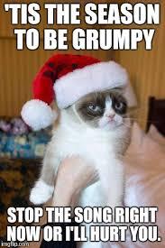 Memes Song - grumpy cat christmas meme imgflip