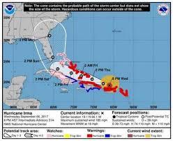the daystarter latest on hurricane irma u0027s track we answer your