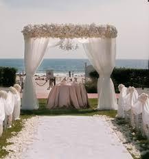 elegant beach wedding decoration Wedding Pinterest
