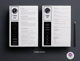 2 Page Resume Template 81 Best Resume Ideas Images On Pinterest Resume Ideas Resume