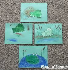 amphibian life cycle diagram children created their own frog