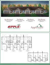 apple home builders applewood estates plans