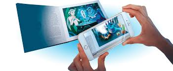the little mermaid a magical augmented reality book