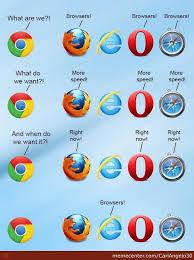 Web Browser Meme - name two web browsers newshosting api