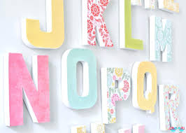 Home Decor Letters Of Alphabet Letter Home Decor Wall Tutorial Awesome Projects Wall Decor