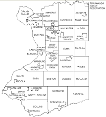 county map of ny municipalities erie county york government home page