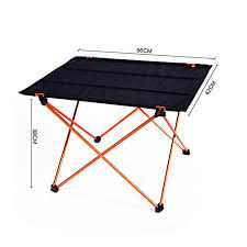 Light Weight Folding Table Outdoor Lightweight Folding Aluminum Camping Table Portable