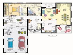 plan maison 120m2 4 chambres chambre plan maison 4 chambres nouveau plan de maison 120m2 4