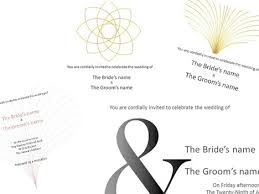 powerpoint wedding invitation template wedding invitation