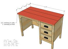 more like home diy desk series 8 vintage desk with hutch