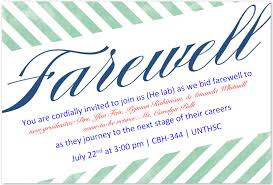 farewell gathering invitation news u0026 information graduate of biomedical sciences