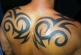 image result for awesome tribal back tattoos for