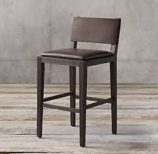 Restoration Hardware Bar Stool Leather Bar Counter Stools Rh