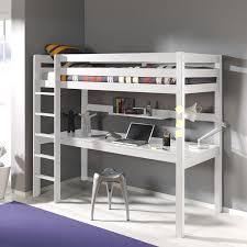 lit mezzanine avec bureau int r lit enfant avec bureau avec lit mezzanine en pin massif 90x200cm
