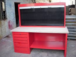 garage garage workbench with drawers red design color for garage red design color for garage workbench with drawers style
