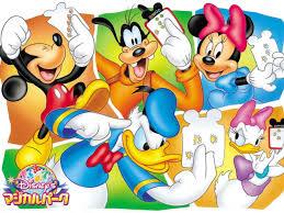 popular characters walt disney mickey minnie mouse donald