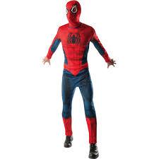 costume men halloween mens spider man jumpsuit halloween costume walmart com