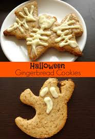 easy halloween gingerbread cookies recipe