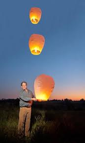 How To Make Paper Air Balloon Lantern - sky lanterns beautiful flying lanterns