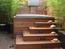 s best deck design ideas with tub about sunken on pinterest