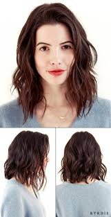lob haircut dark wavy hair you voted and the results are in our editor s new haircut is
