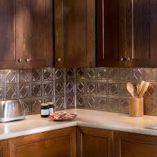 kitchen exciting fasade backsplash and wooden kitchen cabinets