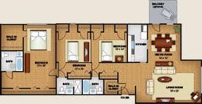 northwest dc apartments floor plans 4000 massachusetts