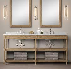 Restoration Hardware Bathroom Mirror by Weathered Oak Washstand Bath Collection Weathered Oak Rh