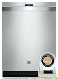 Under Counter Dishwashers Kenmore Stainless Steel Tub Undercounter Dishwasher Full Image For