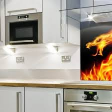 Kitchen Backsplash Panels Uk Uk Coloured Glass Splashbacks Bespoke Affordable For