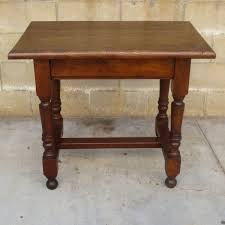 Rustic Tables Beautiful Antique Solid Oak Spanish Rustic Table Library Table