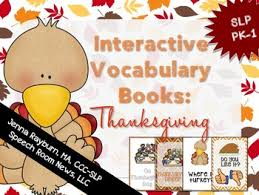 thanksgiving book interactive vocabulary books thanksgiving by rayburn kirk