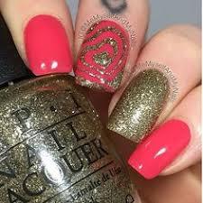 diy red and gold accented tartan nails hair make up u0026 nails
