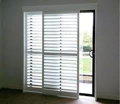 Patio Door Shutters Plantation Shutters For Sliding Glass Doors Brilliant Window