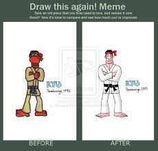 Street Fighter Meme - meme before and after ryu street fighter 2 by powerbazinga on