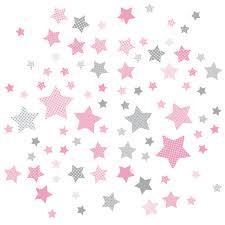 kinderzimmer wandsticker dinki balloon kinderzimmer wandsticker sterne rosa grau 68 teilig