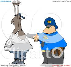 graveyard clipart clipart of a cartoon police officer arresting a man royalty free