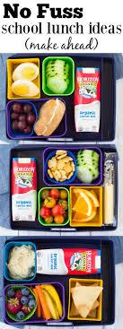 no fuss school lunch ideas make ahead kristine s kitchen