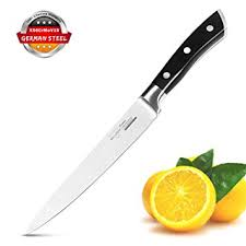 amazon com chef knife kitchen utility knife 6 inch vegetable