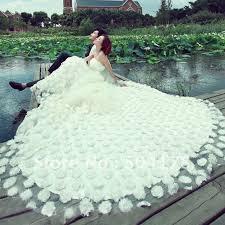 big wedding dresses the bigger the better or ott
