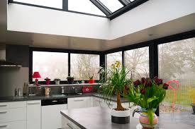 cuisine veranda la v randa dans votre cuisine lumi res naturel ocre brun http