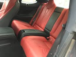 lexus rc f how many seats 2015 lexus rc f review caradvice